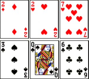 Answer Spread with Playing Cards