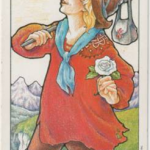 Hanson-Roberts Tarot Deck 0-The Fool