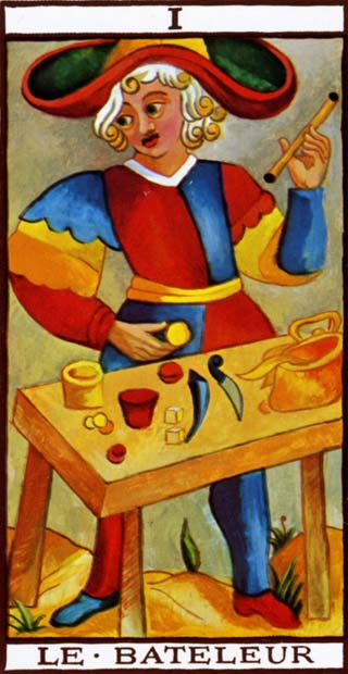 Tarot de Marseille I-The Magician