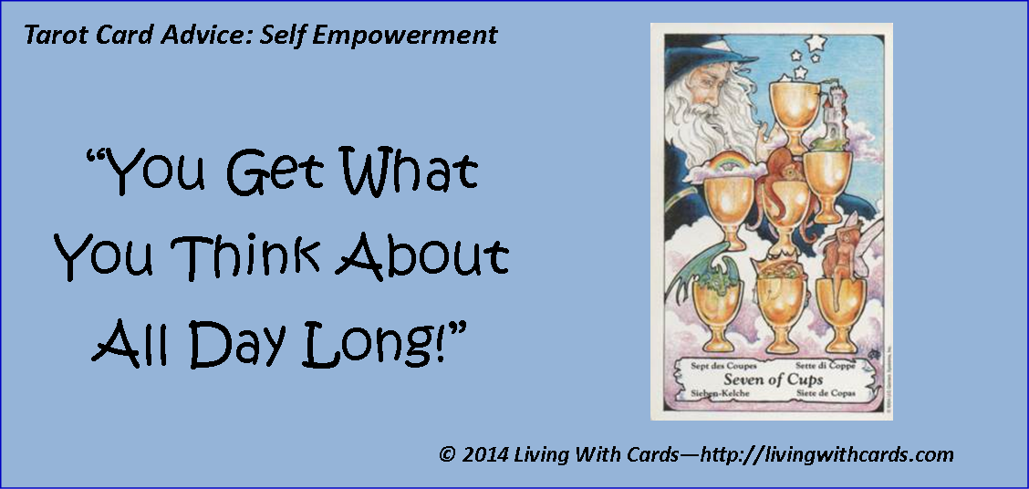 Tarot card advice self empowerment http://livingwithcards.com