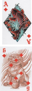 Answer Spread Column 2: Ace of Diamonds - 6 of Diamonds http://livingwithcards.com