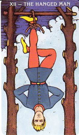 Morgan-Greer Tarot - XII-The Hanged Man