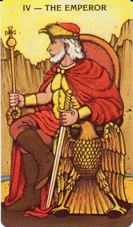 Morgan-Greer Tarot: IV-The Emperor