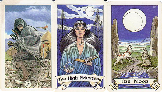 how to read robin wood tarot cards
