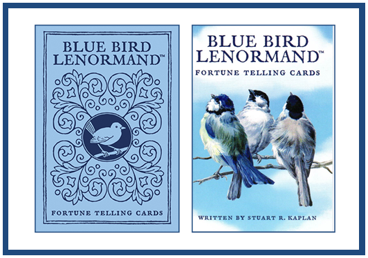Blue Bird Lenormand Fortune Telling Cards by U.S. Games Systems, Inc. http://livingwithcards.com